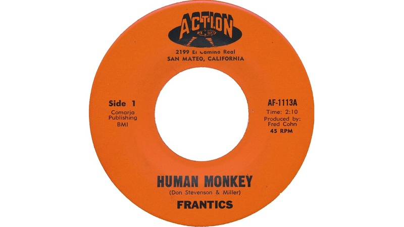The Frantics pre Moby Grape Human Monkey 1966 MONO