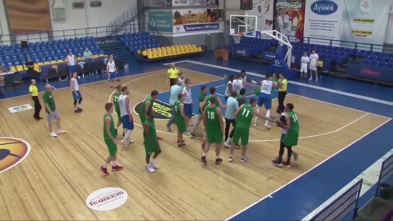На матчі Одеси та Тернополя сталася масова бійка баскетболістів