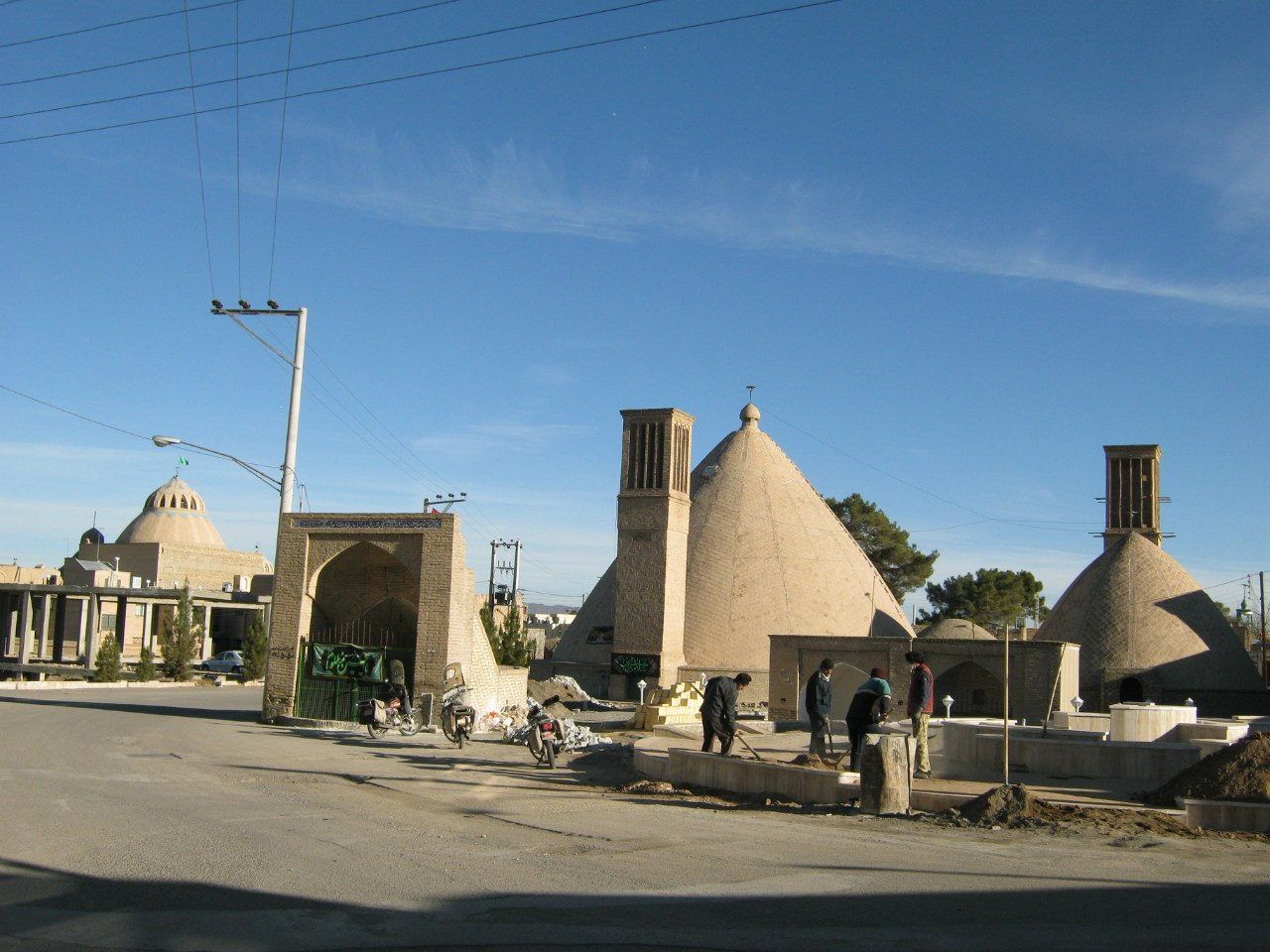 старый городок Наин в Иране