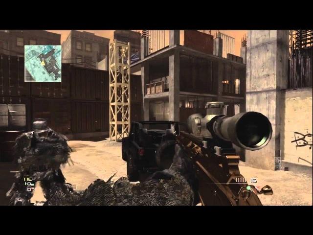 MW3 Glitches and Tricks Part 3 Resistance Outpost Underground Seatown Arkaden Hardhat