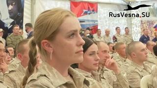 Конец французской оккупации Сирии: русские красавицы в погонах, база ВКС и министр обороны САР
