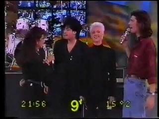 Roxette: Joyride Album Sold More Than  In Argentina. EPIC! / Hacelo X Mi 4 Platiniums - 1991