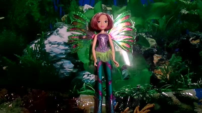 Обзор на куклу Винкс Текну СирениксTecna Sirenix