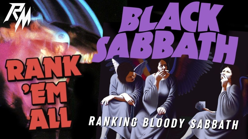 BLACK SABBATH Albums Ranked From Worst to Best Rank 'Em All