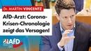 AfD-Arzt: Corona-Krisen-Chronologie zeigt das Versagen! – Martin Vincentz (AfD)