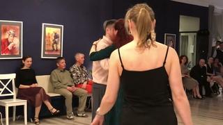 Танец именинницы на Милонге в Libertad