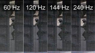 [Slow motion] 240Hz vs 144Hz vs 120Hz vs 60Hz - CS:GO