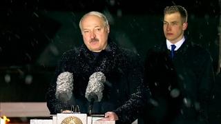 Лукашенко: Обращаюсь ко всем, кто убеждён, что фашизм нёс на нашу землю цивилизацию! // Хатынь