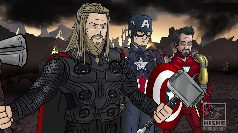 Как следовало закончить фильм Мстители Финал русская озвучка Nickelson