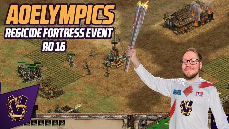 AOElympics Regicide Fortress 1v1 Event RO16