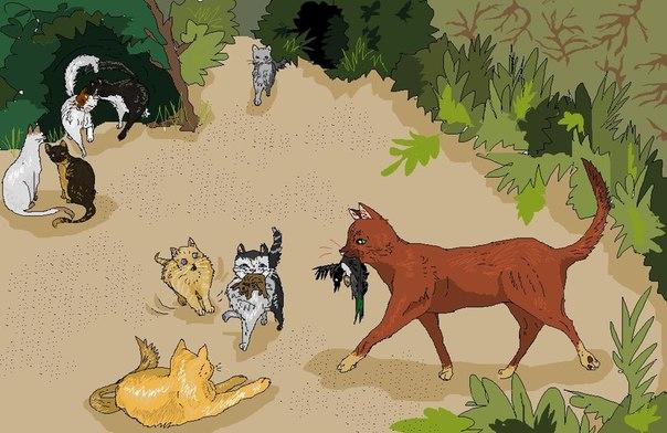 лучше боевые приемы котов воителей с картинками задачей