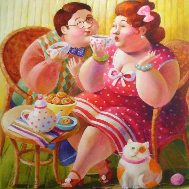 Поздравление от толстушек