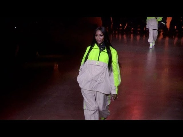 Naomi Campbell, Lewis Hamilton and more on the runway for the Tommy Hilfiger Show