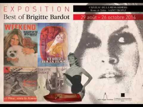 Exposition Brigitte Bardot à Saint Tropez 2014