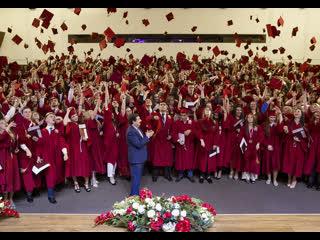 Торжественная церемония вручения дипломов с отличием выпускникам РАНХиГС, 2019 г.