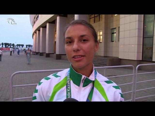 Universiada Eglė Balčiūnaitė galingu finišu išplėšė bronzos medalį