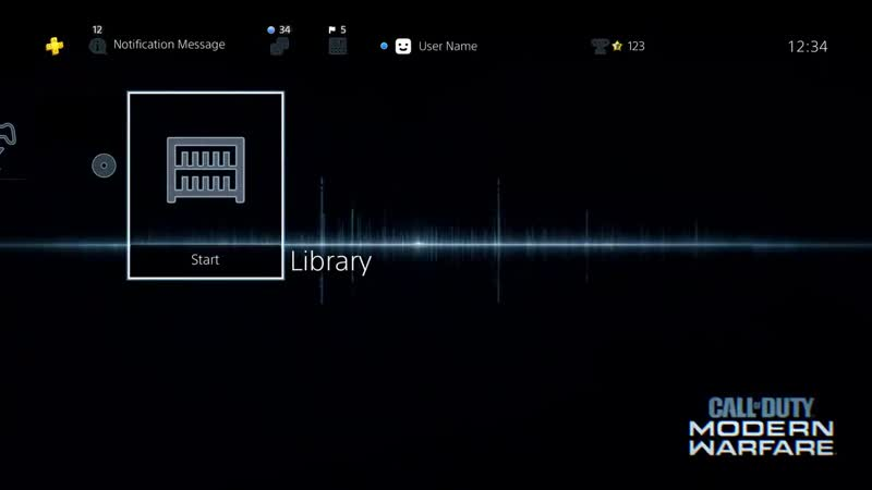 Equip your PS4 with the iconic Modern Warfare waveform. Grab the free theme and prepare fo