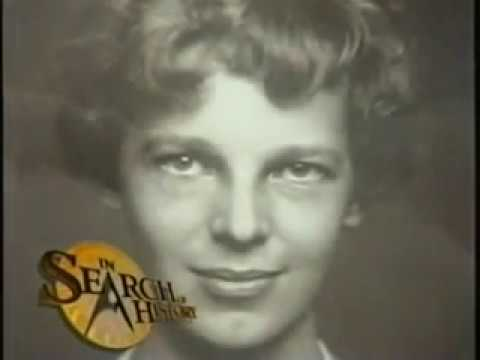 In Search Of History The Mysteries Of Amelia Earhart History Channel Documentary