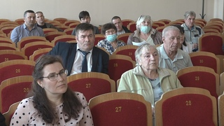Собрание с председателями уличных комитетов