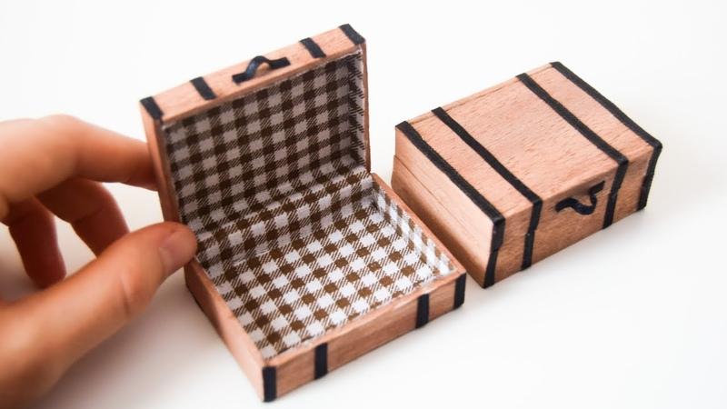 Mini Bavul Yapımı Kendin Yap Barbie Çanta Yapımı