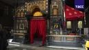 Чугунный Каслинский павильон впервые подсветили в музее изобразительных искусств на Урале