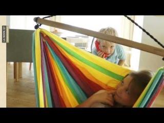 Детский подвесной стул-палатка IRI