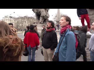 The Streets of Paris. Walking in Paris 4K
