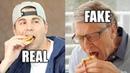 Feeding Bill Gates a Fake Burger (to save the world)