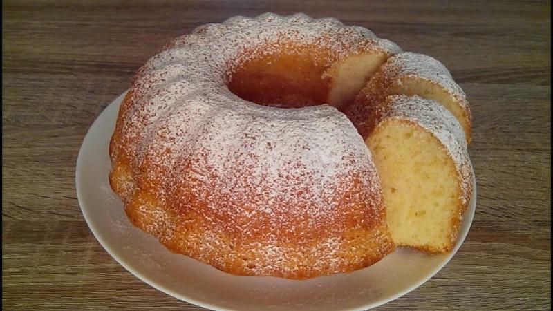 Нежный, воздушный и очень вкусный КЕКС! Простой рецепт! / Delicate, airy and delicious cupcake!