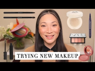 Trying New Makeup - DIOR | NARS | Kjaer Weis
