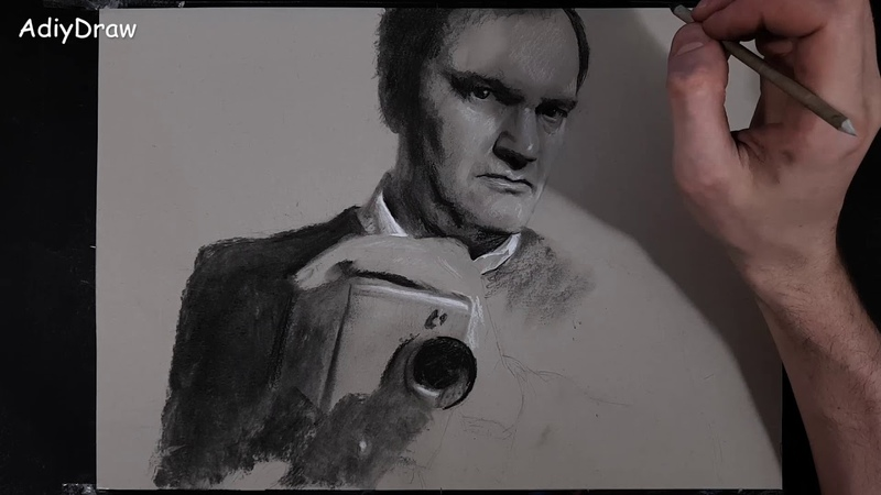Quentin Tarantino Drawing