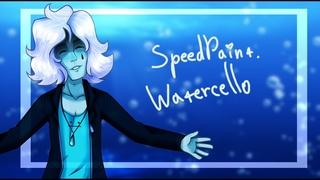 SpeedPaint. Watercello