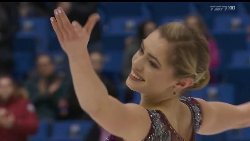 Элейн Шартран ПП Чемпионат Канады 2019