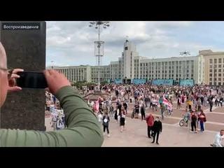 Как злоумышленники фальсифицируют митинги в Минске в столице Беларуси  Организованная преступность