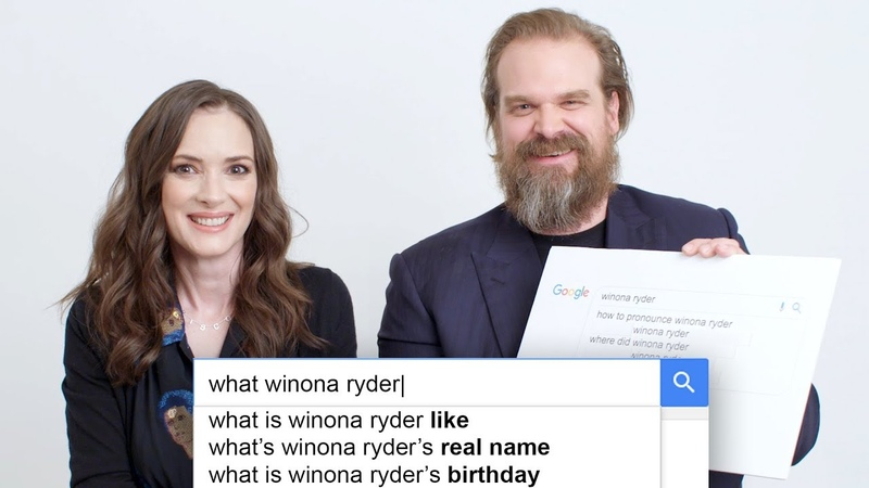 Stranger Things' Winona Ryder David Harbour Answer the Web's Most Searched Questions WIRED