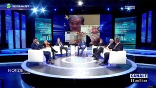 Fondamentale l'organizzazione nelle proteste - Roberto Fiore (Forza Nuova) Canale Italia 26/03 (2^)
