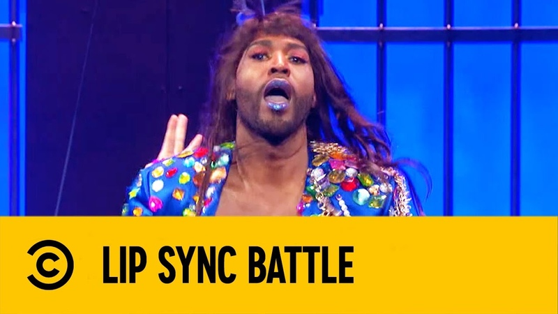 Telephone - Jonathan Karamo | The Queer Eye | Lip Sync Battle 5 | Comedy Central LA