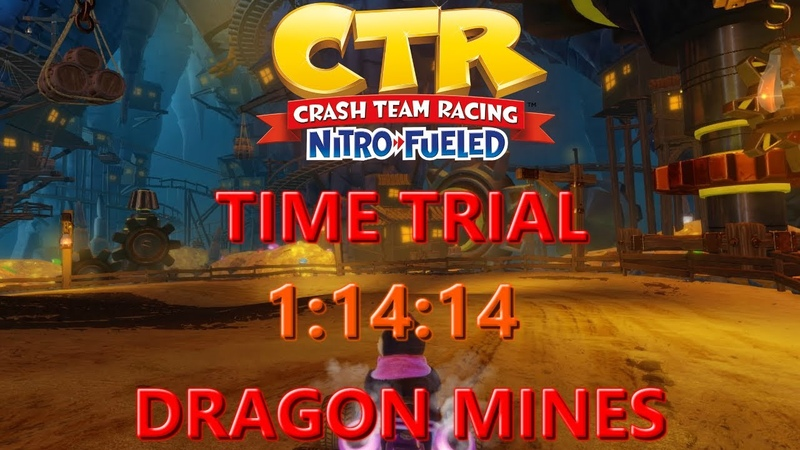 WR Nitro Fueled Dragon Mines Time Trial In 1 14 14