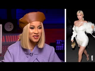 Cardi b t.i. give celebrities their rapper names e! news