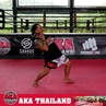 AKA Thailand on Instagram Like Fat Joe said Lean Back Trainer @akakrubird demonstrates how to LEAN BACK to dodge a head kick in today's AKAT