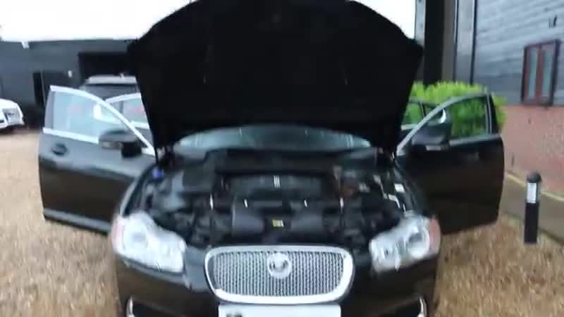 Jaguar XF R 5 0 V8 Supercharged Automatic in Ultimate Black with Full Black Exte
