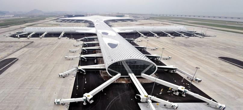 Невероятные аэропорты, в которые точно захочется вернуться, изображение №7