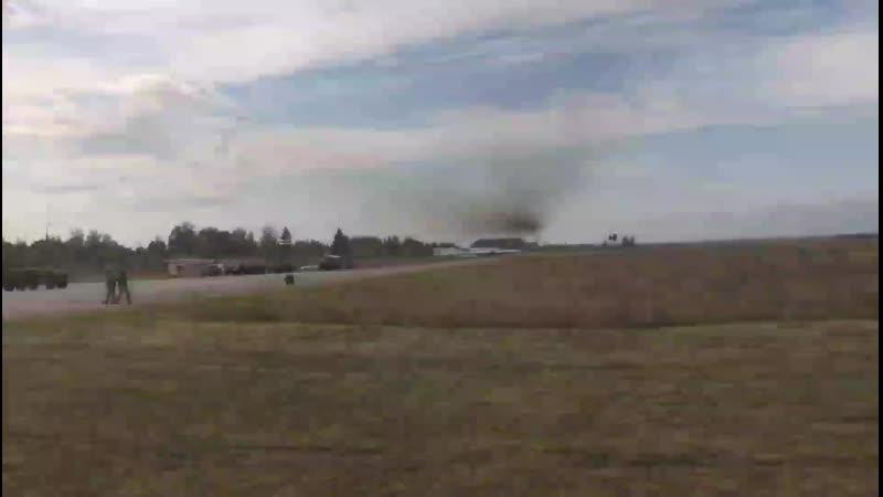 Прохід МиГ-29УБ на гранично малій висоті - 28. 09. 2019