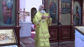 Епископ Адриан - Проповедь в праздник иконы Божией Матери, именуемой «Троеручица»