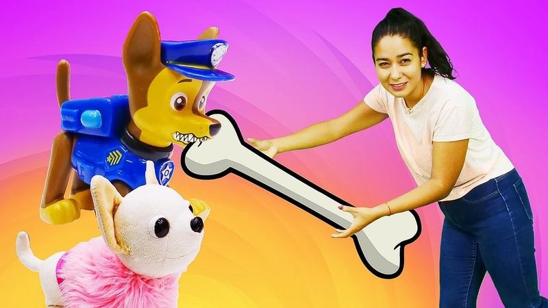 Lustige Schule mit Valeria Spielzeug Video für Kinder Valerias Haustiere