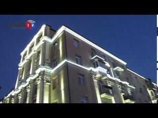Светящаяся архитектура: Мариупольцы в восторге от новых светодиодных шоу Театрального кольца