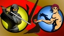 Победил призрака 4 телохранителя Shadow fight 2 шедоу файт 2
