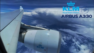 KLM Airbus A330 🇫🇷 Paris CDG - Sint Maarten SXM 🇸🇽 via Amsterdam Schiphol 🇳🇱 Full Flight Report