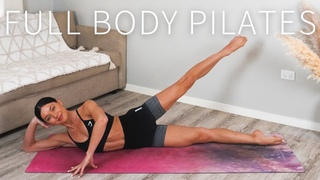 45 MIN FULL BODY WORKOUT    At-Home Pilates 🤍 Day 7: Move With Me Series