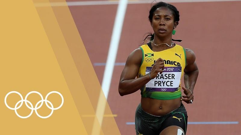 Shelly-Ann Fraser-Pryce - Womens 100m Champions of London 2012